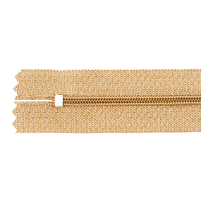 Молния пласт юбочная №3 20 см цвет яр-персик фото