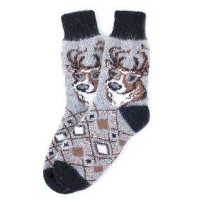 Носки теплые шерстяные 3001 27-29 см фото