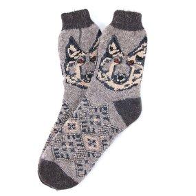 Носки теплые шерстяные 3002 27-29 см фото