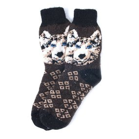 Носки теплые шерстяные 3004 27-29 см фото