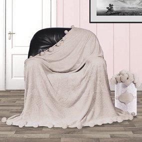 Покрывало бубон с рисунком 200/220 цвет серый фото