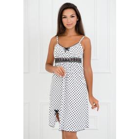 Ночная сорочка 0057-76 цвет Черно-белый р 46 фото