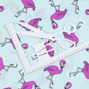 Маломеры поплин 150 см 434/2 Фламинго цвет мята 0.95 м фото