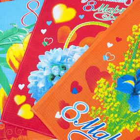 Набор вафельных полотенец 3 шт 50/60 см 201/2 фото
