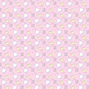 Поплин 150 см 1982/3 Королевские подушки цвет розовый фото