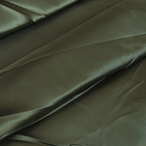 Шелк искусственный 100% полиэстер 220 см цвет темно-зеленый фото