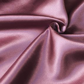 Шелк искусственный 100% полиэстер 220 см цвет цвет темно-розовый фото