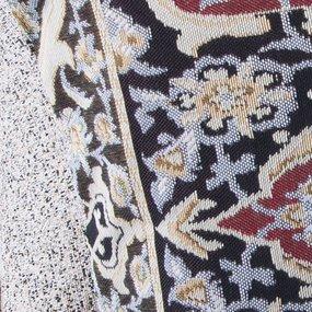 Наволочка гобелен декоративная 45/65 см Ковровый узор 3-2501 фото