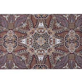Наволочка гобелен декоративная 45/65 см Ковровый узор 2-2497 фото