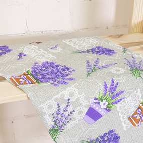 Набор вафельных полотенец 3 шт 35/75 см 461-1 Лаванда фото