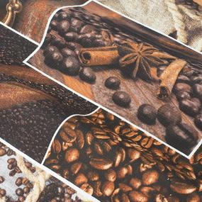 Набор вафельных полотенец 3 шт 50/60 см 30166/1 Аромат кофе фото