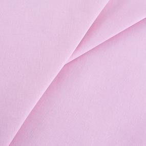 Мерный лоскут бязь гладкокрашеная 120гр/м2 150 см цвет розовый 35 м фото
