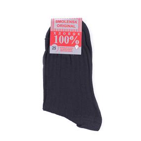 Мужские носки С-26 Smolensk original цвет черный размер 25 фото