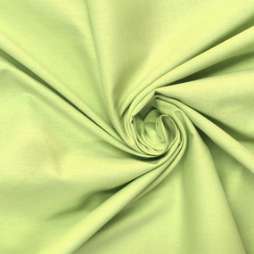 Ткань на отрез поплин гладкокрашеный 150 см цвет авокадо фото