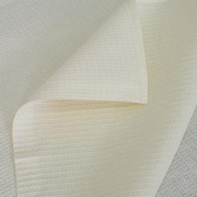 Полотенце вафельное банное 150/75 см цвет ваниль фото