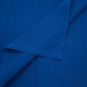 Полотенце вафельное банное 150/75 см цвет василек фото