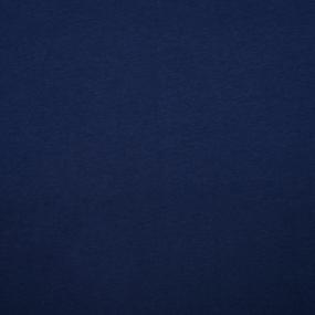 Ткань на отрез футер 3-х нитка компакт пенье начес цвет темный индиго фото