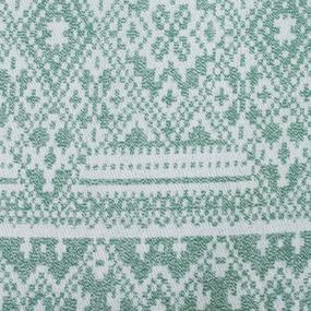 Плед Байковый хб 400 гр цвет зеленый 150/210 см фото