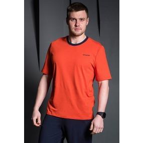 Футболка 1302-70 цвет Оранжевый р 58 фото