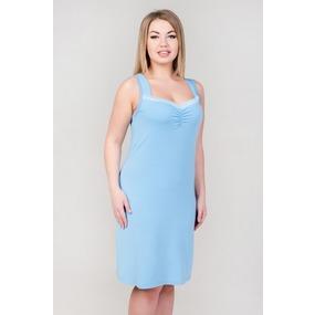 Ночная сорочка 0331-57 цвет Голубой лед р 58 фото