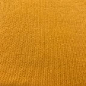 Ткань на отрез интерлок цвет желтый фото