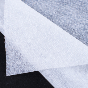 Ткань на отрез флизелин 90 см 25 гр/м2 цвет белый фото