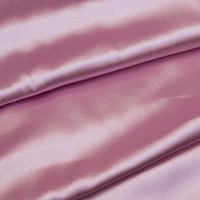 Шелк искусственный 100% полиэстер 220 см цвет светло-розовый фото