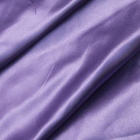 Шелк искусственный 100% полиэстер 220 см цвет сиреневый фото