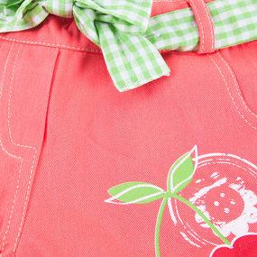 Шорты детские Вишня цвет персик рост 86 фото