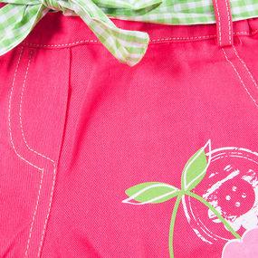 Шорты детские Вишня цвет малина рост 86 фото