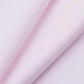 Ткань на отрез рибана с лайкрой М-2003 цвет розовый фото