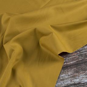 Ткань на отрез сатин гладкокрашеный 245 см 213KL-949 цвет горчица фото