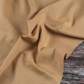 Ткань на отрез сатин гладкокрашеный 245 см 213KL-143 цвет медовый фото
