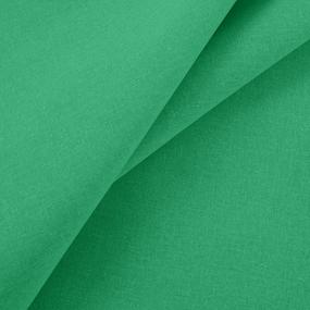 Ткань на отрез бязь гладкокрашеная 120 гр/м2 150 см цвет ярко-изумрудный фото