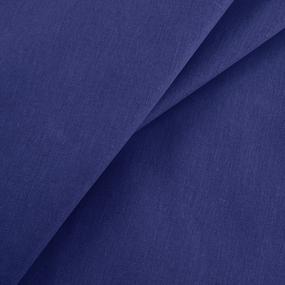Ткань на отрез бязь гладкокрашеная 120 гр/м2 150 см цвет синий фото