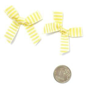 Бантики пришивные арт.MJ.RF.100.02 цв.02 желтый уп.1000шт фото