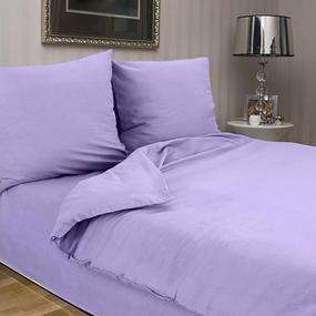 Ткань на отрез сатин гладкокрашеный 220 см WSB-007 цвет сиреневый фото