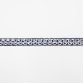 Кружево гипюр 1,3 см синий 909 1 метр фото