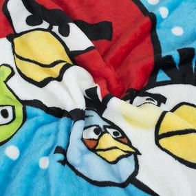 Плед детский велсофт Angry Birds 95/100 фото