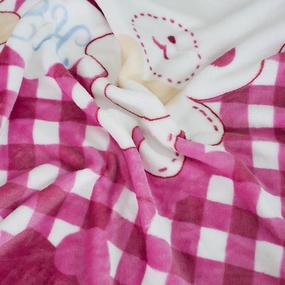 Плед детский велсофт Собаки 95/100 фото