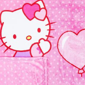 Плед детский велсофт Hello kitty 95/100 фото