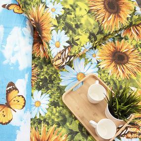 Постельное белье из бязи 335/1 2-х сп с евро простыней фото