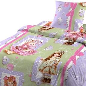Детское постельное белье из бязи Шуя 1.5 сп 90661 ГОСТ фото