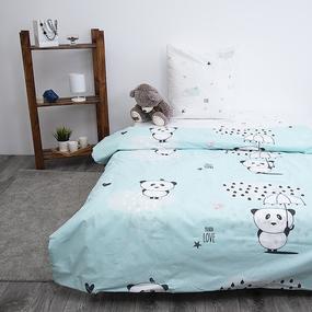 Детское постельное белье из поплина 1.5 сп Бублик 3046-1 фото
