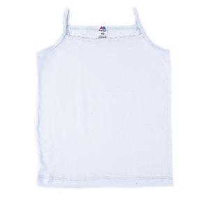 Майка для девочки с рюшами белая 152-158 фото