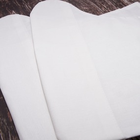 Бахилы тканевые на завязках 40/40 см фото