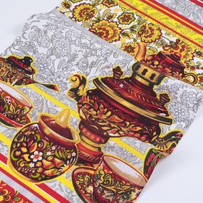 Полотенце вафельное 35/75 см 200041В Хохломской сувенир фото