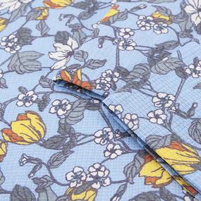 Набор вафельных полотенец 3 шт 35/70 см 3013-2 Клематис фото