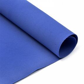 Фоамиран в листах 1 мм 50/50 см уп 10 шт MG.A025 цвет темно-синий фото