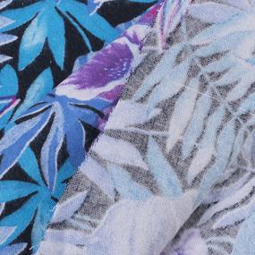 Ткань на отрез фланель 80 см 17720 Тропики фото